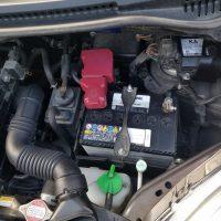 MRワゴンバッテリー交換