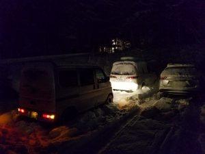 丸沼高原スキー場でバッテリー上がり救援