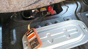 スズキエブリィワゴンのバッテリー上がり救援