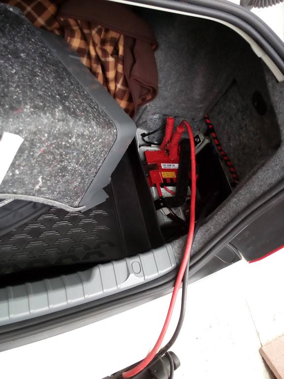 BMWのバッテリー上がり救援