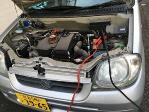 軽自動車バッテリー上がり