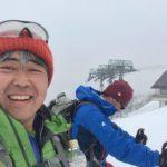 谷川岳の雪山登山
