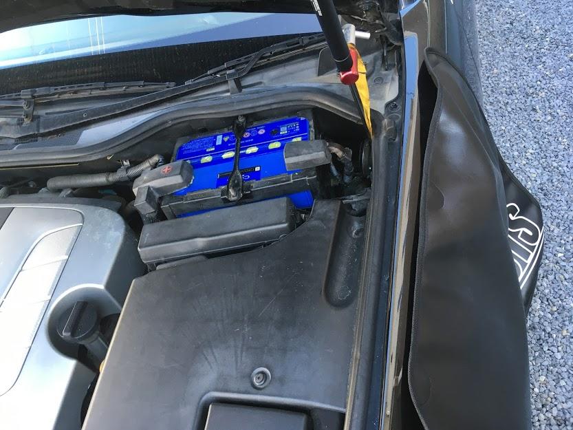 セルシオのバッテリー交換