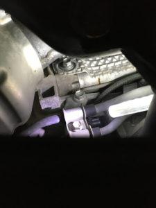 LS460のセルモーター